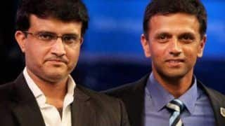 Dravid, Ganguly Discuss Matters Related to NCA at BCCI Headquarters