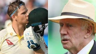 Aus vs pak steven smith responds to ian chappells remark over undermining tim paine
