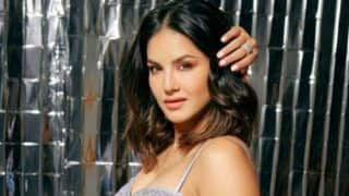 Sunny Leone Looks Uber Hot as She Flaunts Her Perfect Curves in Pastel Blue Lehenga For Magazine Photoshoot