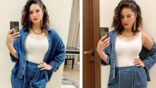 Sunny Leone's Denim-on-Denim Look Will Give You Major Fashion Goals