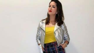 Bollywood Hottie Sunny Leone Goes All Trendy in Yellow Top And Stylish Trousers, Picture Will Give You Major Fashion Goals