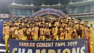 Cricket Rs 225 Crore Bets Were Placed in Tamil Nadu Premier League (TNPPL) T20 Match Between Tuti Patriots and Madurai Panthers, BCCI to Investigate: Report