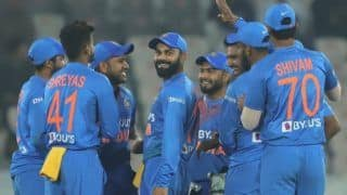 India vs west indies 1st t20 indian cricket team becomes the first team to successfully chase down three 200 targets in t20 international match