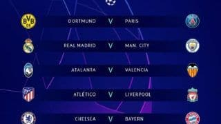 UCL Draw Champions League Last 16 Draw: Liverpool Face Atletico, Chelsea Draw Bayern