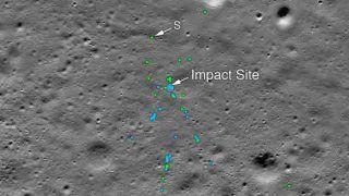 चंद्रयान 2: चांद की सतह पर मिला विक्रम लैंडर का मलबा, नासा ने शेयर की तस्वीरें