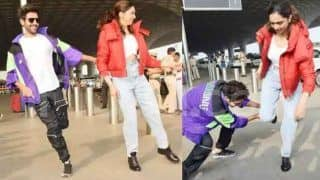 Dheeme Dheeme Challenge: दीपिका पादुकोण और कार्तिक आर्यन ने मुंबई एयरपोर्ट पर किया डांस, वायरल हुआ VIDEO