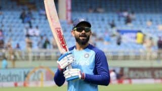 Indvwi virat kohli completes 400 international match becomes 8th indian cricketer 3881895