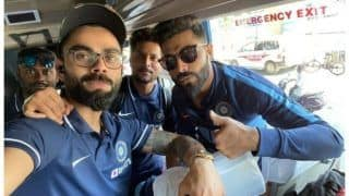 Indvwi odi series indian cricket team west indies team reach chennai for first odi 3876178