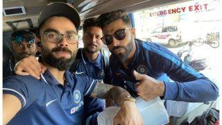 वनडे सीरीज के लिए टीम इंडिया चेन्नई पहुंची, जडेजा, कुलदीप संग कोहली ने शेयर किया फोटो