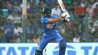 Ind vs wi mumbai t20i virak kohli becomes 1st indian to completes 1000 run in t20i in home condition 3875280