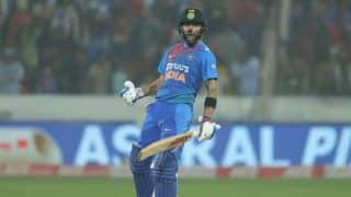 Ind vs wi virat kohli just 3 run away to become 1st indian to reach 1000 t20i runs at home