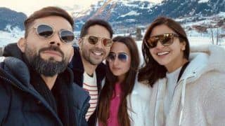 Anushka Sharma, Virat Kohli Spend Downtime at Switzerland, Meet Varun Dhawan, Natasha Dalal at Snow-clad Mountains