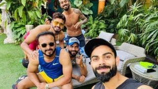 IND vs WI: Kohli Enjoys 'Rare Off Day' With Boys Ahead of Series Decider in Cuttack