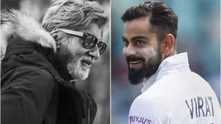 Virat Kohli Responds to Amitabh Bachchan For Congratulating Him on His Match-Winning Knock vs West Indies in 1st T20I in Hyderabad