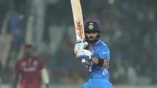 IND vs WI 1st T20I Match Report: Virat Kohli, KL Rahul Stars as India Beat West Indies by 6 Wickets to Take 1-0 Lead in Hyderabad