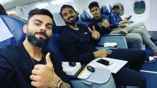 Virat Kohli Shares In-Flight Selfie With KL Rahul, Shivam Dube Ahead of India vs West Indies T20I Series