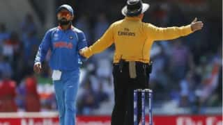 Indvwi third umpire to call front foot no balls in india vs west indies t20i odi series