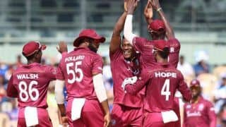 Ind vs wi chennai odi 80 percent match fee of west indies players deducted due to slow over rate 3879967