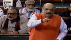 Parliament LIVE: 'We Will Never Touch Article 371,' Says Home Minister Amit Shah