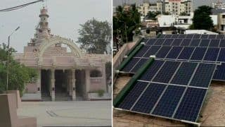 Gujarat Temple Switches to Solar Power and Uses Saved Money to Fund College, Wins Praise