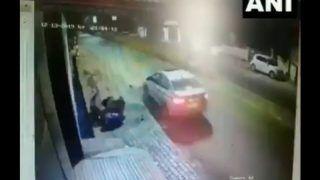 जब एक्सीडेंट के बाद बाइक सवार को दूर तक घसीटती रही कार, देखें दिल दहला देने वाला VIRAL VIDEO