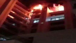 मुंबई में रिहायशी इमारत में भीषण आग, कई के फंसे होने का अंदेशा