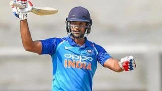 India vs West Indies ODIs: Mayank Agarwal Replaces Shikhar Dhawan in India's ODI Squad