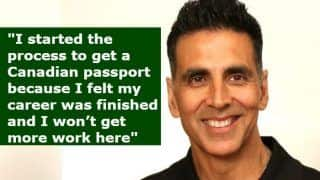 Akshay Kumar Ends The Debate About His Citizenship, Reveals he Has Applied For Indian Passport