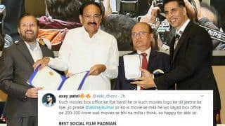 National Film Awards 2019: Akshay Kumar's Fans Celebrate as Padman Wins Best Social Film Honour