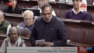 If Sardar Patel Meets Modiji, he Will be Angry, Says Anand Sharma During CAB Debate