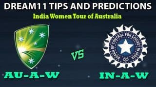 Australia A Women vs India A Women Dream11 Team Prediction India A Women Tour of Australia: Captain And Vice-Captain, Fantasy Cricket Tips AU-A-W vs IN-A-W Match 1 at Allan Border Field, Brisbane 5:30 AM IST