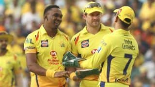 Ms dhoni will play icc t20i world cup 2020 says dwayne bravo 3878518