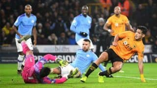 EPL: City's Title Hopes Receive Major Jolt With Defeat to Wolves