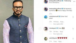 Kedar Jadhav Posts 'Fearlessly Authentic' Picture; Rohit Sharma Comments 'Zeher Bhai Zeher'