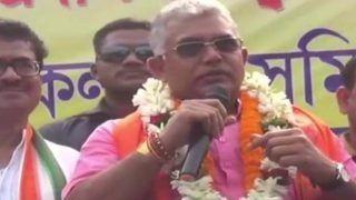 West Bengal Elections: दिलीप घोष बोले- टीएमसी कोविड-19 से ज्यादा खतरनाक, भाजपा इस वायरस से छुटकारे का टीका