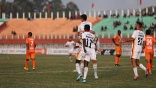 I-League: Colado Scores Twice as East Bengal Beat Neroca 4-1