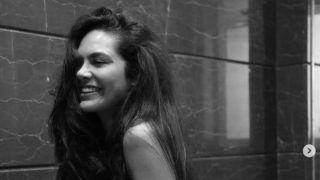 Esha Gupta Sizzles in Sexy Black Lacy Bralette For Steamy Saturday Post