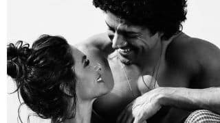 Farhan Akhtar And Shibani Dandekar's Latest Picture is How You Ace a Black-And-White Click With Love