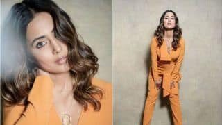Hina Khan's Sleek And Chic Look Gives us Power Dressing Goals