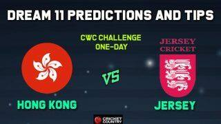 Dream11 Team Prediction Hong Kong vs Jersey: Captain And Vice Captain For Today CWC Challenge One-Day Between HK vs JER at  Al Amerat Cricket Ground Oman Cricket (Ministry Turf 1) 10:30 AM IST December 5