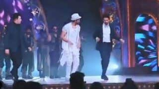 Hrithik Roshan And Kartik Aaryan Shake a Leg to Dheeme Dheeme at a Recent Awards Show- Watch
