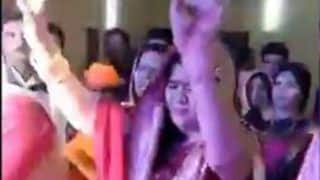 Video of MP Minister's Dance With Mujhko Ranaji Maf Karna... Goes Viral; What's Wrong, Asks Twitter