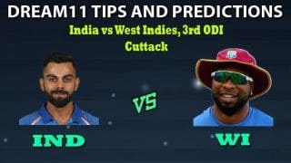 India vs West Indies 2019, 3rd ODI, Live: India's 17-Year-Long Home Record Against West Indies on The Line