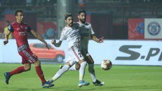 ISL: NorthEast United FC Keep Unbeaten Record Intact; Draw 1-1 With Jamshedpur FC