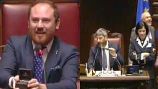 Italian MP Proposes to Girlfriend During Session And You Think Indian Parliament is Dramatic!