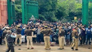 Against Police Action: DU Students Boycott Exams, Hold Protests in Solidarity With Jamia Students