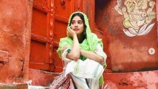 Janhvi Kapoor is Having The Best Time as She Wanders on The Streets of Varanasi