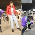 Deepika Padukone And Kartik Aaryan Turn Airport Into Stage And Perform on Dheeme Dheeme in Front of Crowd