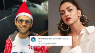 Kartik Aaryan Becomes Santa And Deepika Padukone Wants Her Christmas Gift From Him, Read on