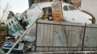 Plane With 100 on Board Crashes Into Two-Story Building in Kazakhstan, Toll Rises to 14